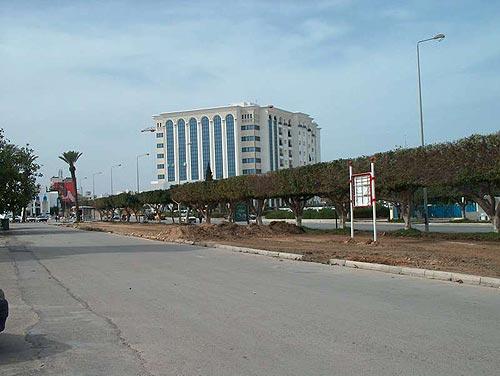 Города и курорты в тунисе